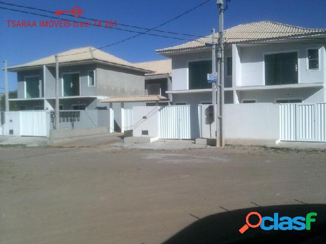 Casa Nova 02 dorm. (01 Suíte), Araruama-RJ.