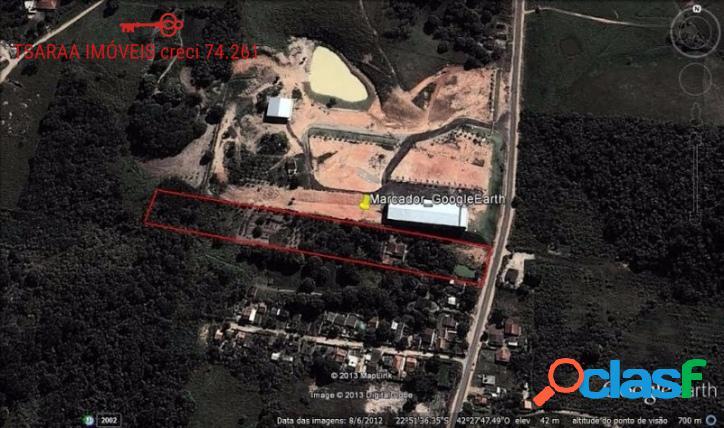 TERRENO PLANO COM 20.214m², POLO INDUSTRIAL DE SAQUAREMA. 2