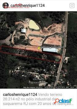 TERRENO PLANO COM 20.214m², POLO INDUSTRIAL DE SAQUAREMA. 3