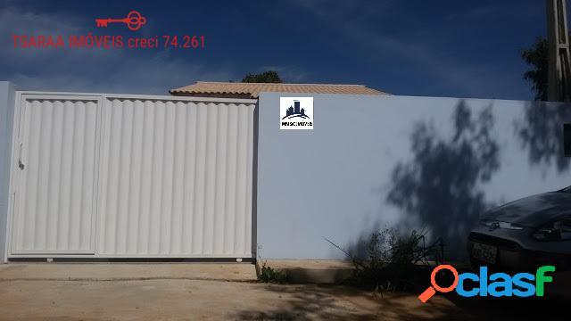 Casa nova, 02 qtos (1 suíte), garagem, com rgi, araruama.