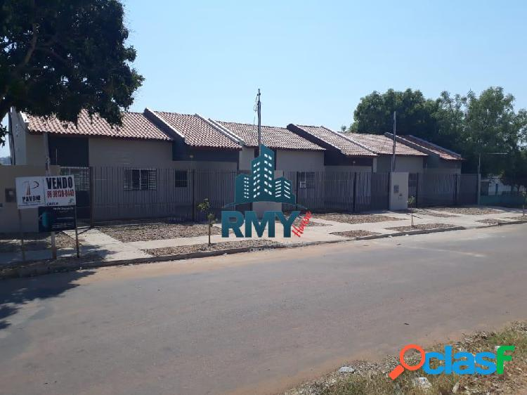 Casa nova e pronta para morar na vila operária - 2 quartos