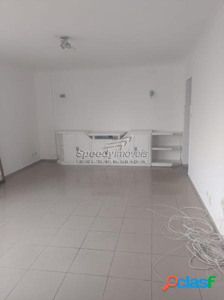 Apartamento em santos 3 dormitórios, gonzaga.