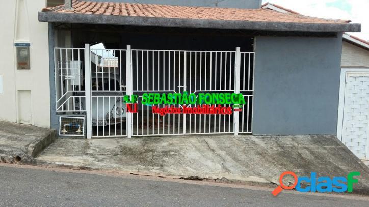 Casa 2 dormitórios, Jardim Santa Júlia