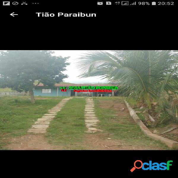 Chácara em Paraibuna - próximo a Tamoios