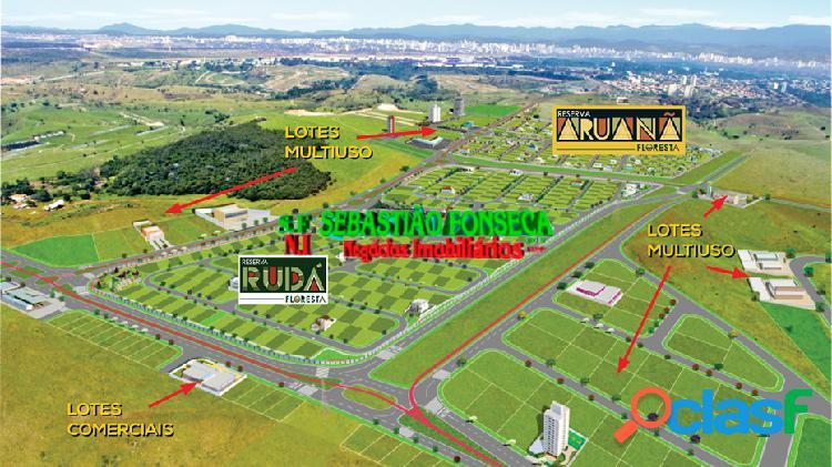 Terreno 280 m2 - lote bem localizado no Condomínio Aruanã - Floresta