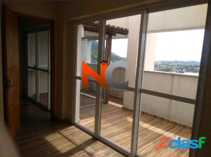 Sala, centro, nova iguaçu - r$ 390.000,00, 60m² - codigo: 332