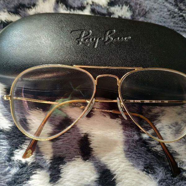 Armação óculos de grau rayban aviador