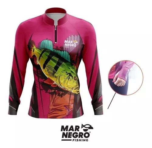 Camisa de pesca c/ luvinha f