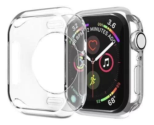 Capa case para relógio apple watch 40mm 42mm 44mm +