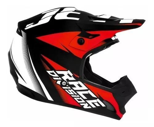 Capacete trilha off road motocross th1 jett - tam 56 58 60