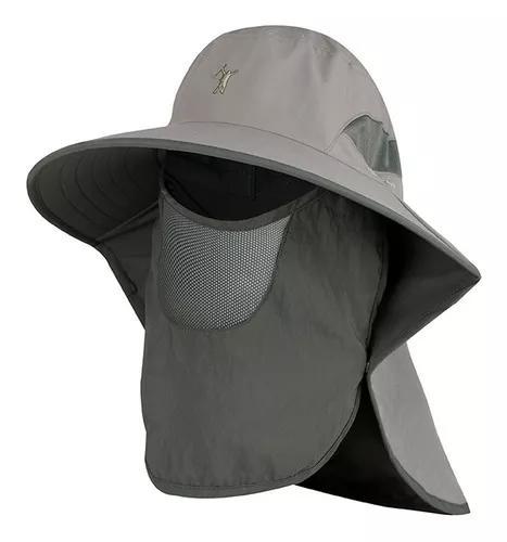 Chapéu protetor solar ao ar livre upf 50+ sun cap com