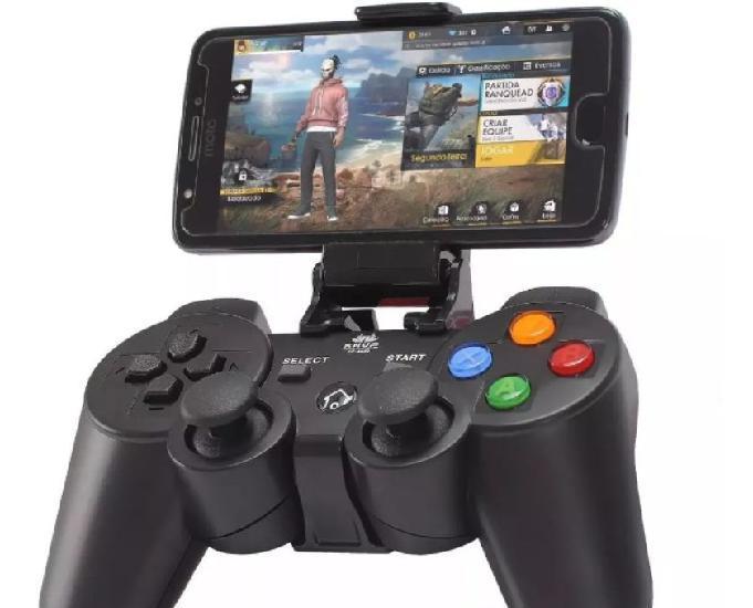 Controle joystick bluetooth estilo ps3 android, celular,pc