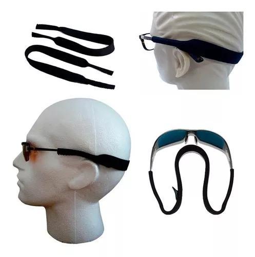 Cordão neoprene p/ óculos seguro é só encaixar frete