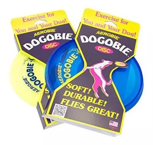 Disco frisbee aerobie dogobie dog toy 28c12 - cores variada