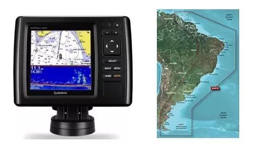 Garmin gps sonar echomap 54cv sonda completo garantia 52 53