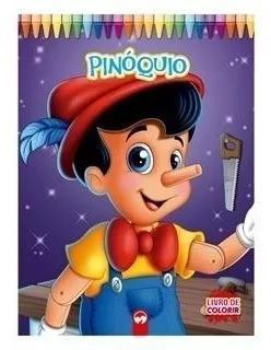 Kit livros infantis juvenis - jumbo para colorir - 6 volumes