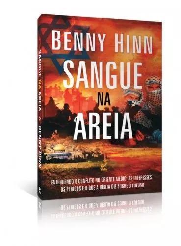 Livro Benny Hinn - Sangue Na Areia