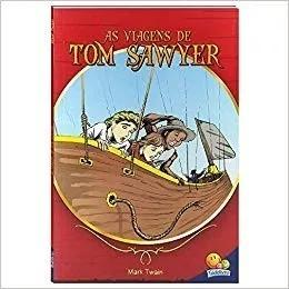 Livro contos juvenis as viagens de tom sawyer c/frete