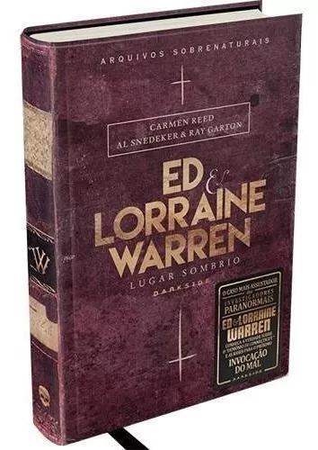 Livro - ed & lorraine warren: lugar sombrio - darkside