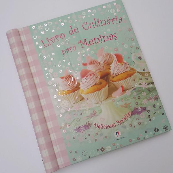 Livro de culinária para meninas