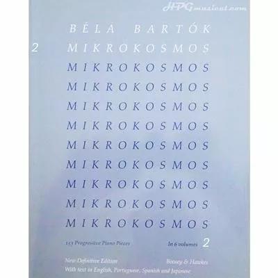Mikrokosmos volume 2 (blue) - 153 progressive
