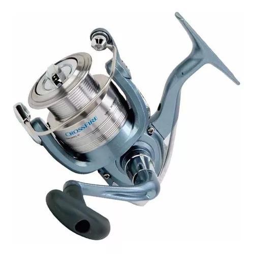 Molinete pesca daiwa crossfire 2000x 5 rolamentos 5.3:1