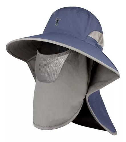 Protetor de sol ao ar livre chapéu upf 50 + sun cap com