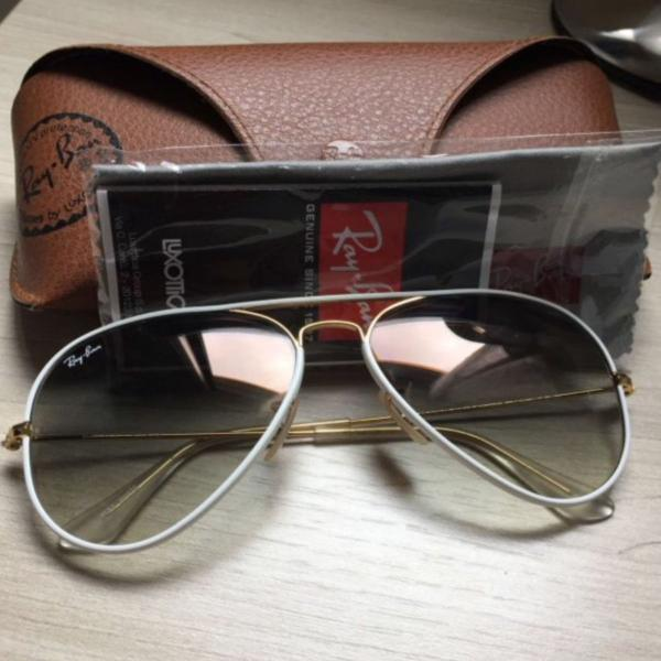 Ray ban full color white