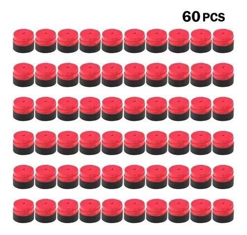 Redpack de 60 punhos de raquete de tênis anti-derrapante