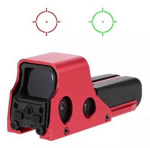 Riflescope ponto verde vermelho