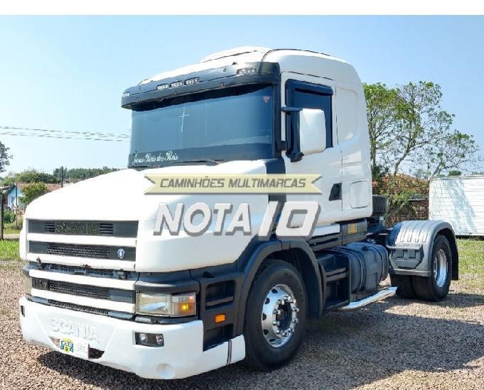 Scania t114g 330 4x2 2005 cavalo mecânico toco bicudo