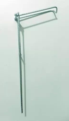 Suporte articulada vara pesca barranco molinete outros 30cm