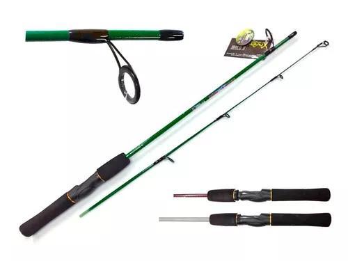 Vara de pesca 1,30 mts xingu molinete 5,0 kg/ 11,0 lbs top