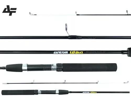 Vara para molinete albatroz kara black (1,50m) 8-16lbs - 2