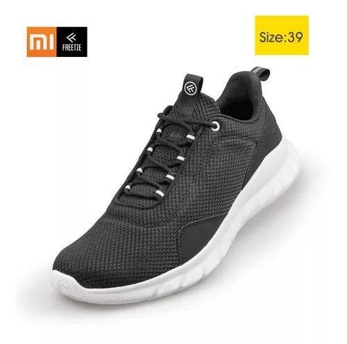 Xiaomi freetie sneakers homens de malha leve superior