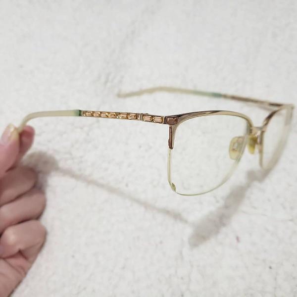 Armação óculos grau ana hickmann feminino semi novo.