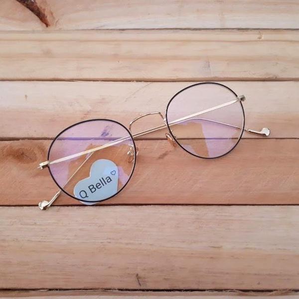 Armação de óculos redonda