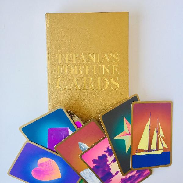 Baralho cigano importado - titanias cards