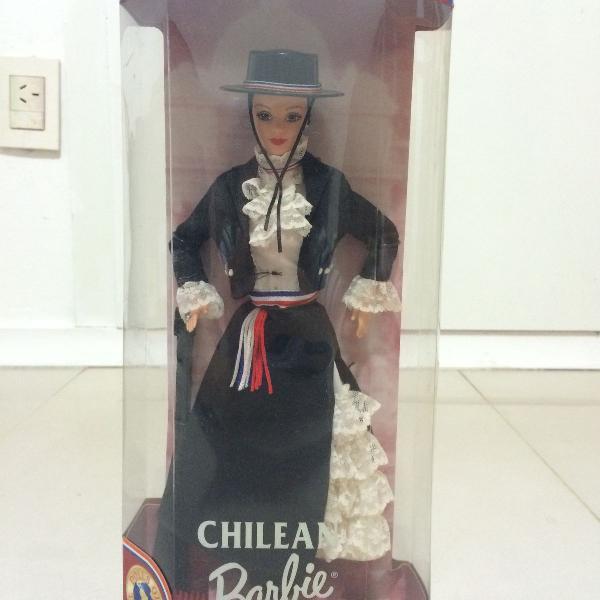 Barbie chilena edição de colecionador