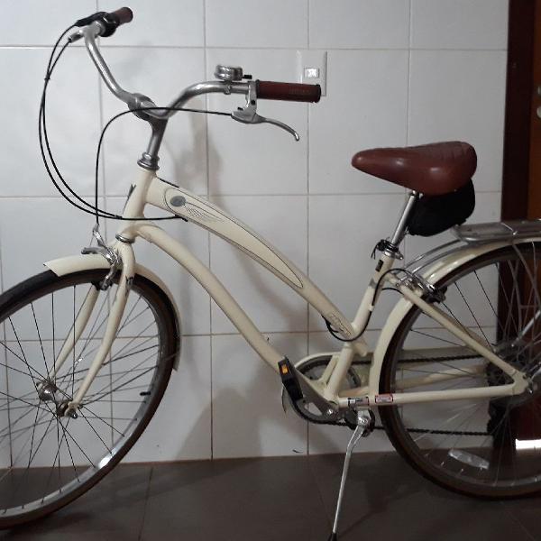Bicicleta nirve feminina cruiser 6061 aluminium