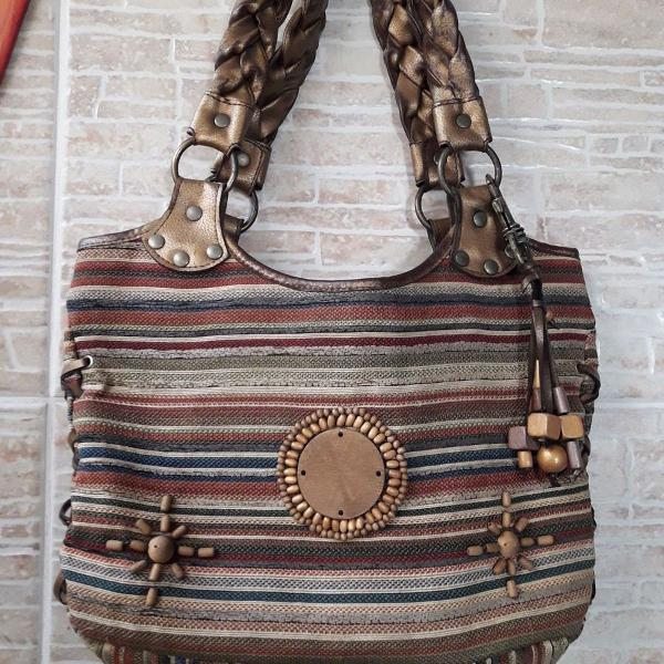 Bolsa tecido artesanal peruana