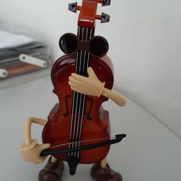 Caixinha de música violino!!