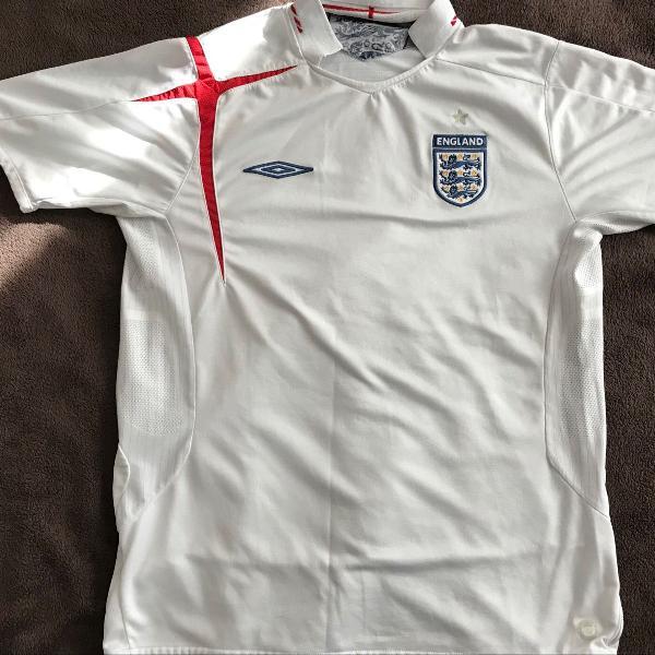 Camisa / camiseta de futebol da seleção da inglaterra 2005