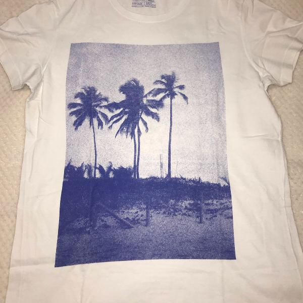Camiseta estampada osklen