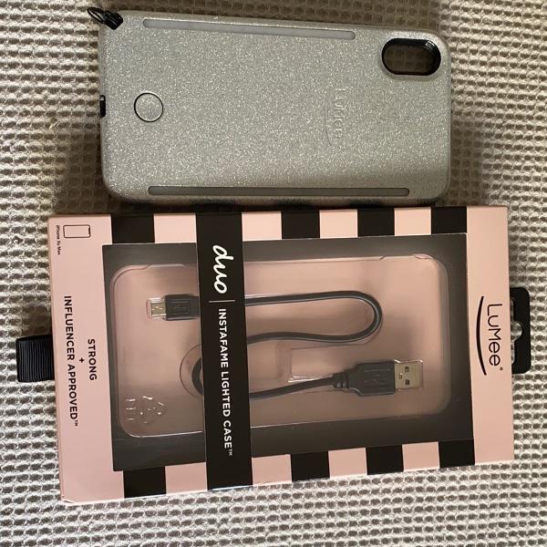 Case capinha lumee original iphone xs max