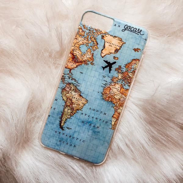Case mapa mundi iphone