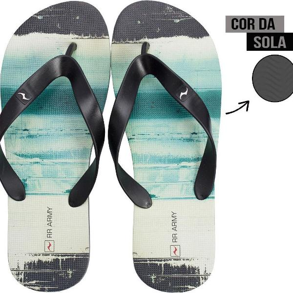 Chinelo masculino rr army solado ink 100674 37/38