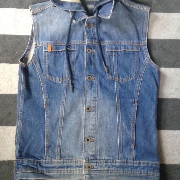 Colete jeans zara