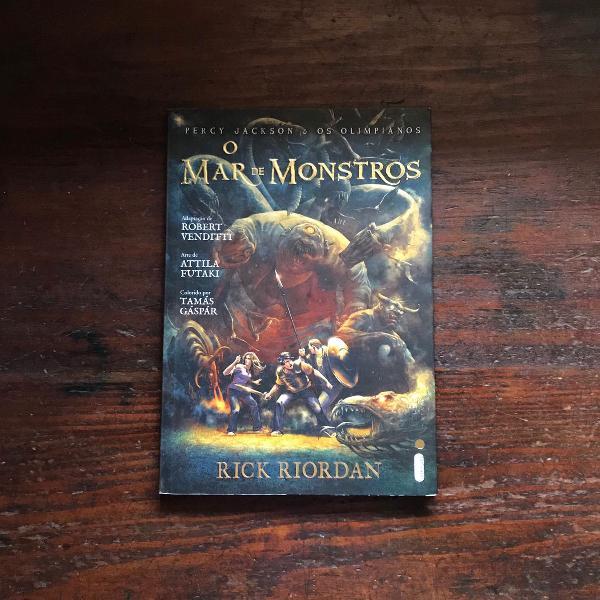 Graphic novel - o mar de monstros