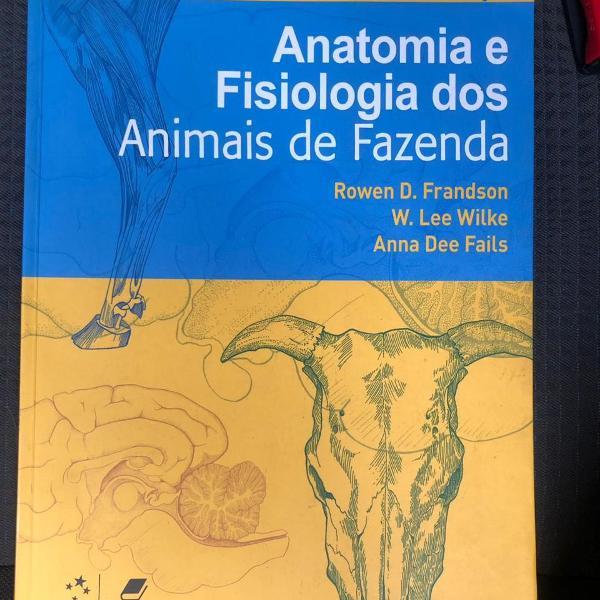 Livro anatomia e fisiologia dos animais de fazenda
